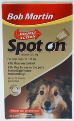 Bob Martin Double Action Spot On Solution - Large dogs