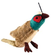 Mini  Pheasant Plush Toy For Dogs