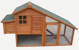 Rabbitshack Chicken Coop And Exercise Run