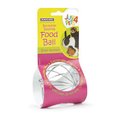 Small Animal Food Ball By Ancol